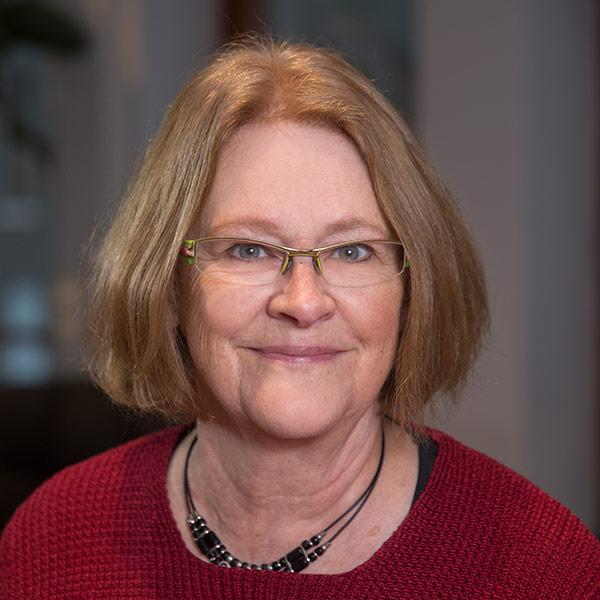 Porträttbild på Katarina Eckerberg
