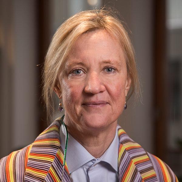 Porträttbild på Ingrid Bonde