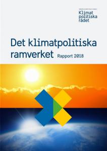 Klimatpolitiskt Ramverk 2018 Omslag