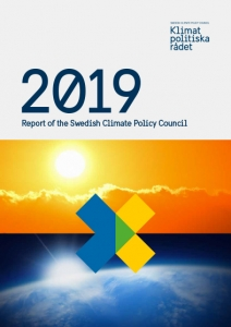 Climate policy council report cover